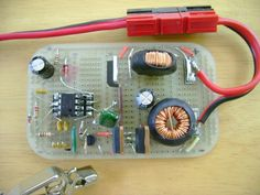 Battery Desulfator by greenproductsolutionpr -- Homemade battery desulfator constructed from a can of Altoids, a perforated board, adhesive copper sheet, switches, potentiometers, an LED, resistors, and a field effect transistor. http://www.homemadetools.net/homemade-battery-desulfator-2