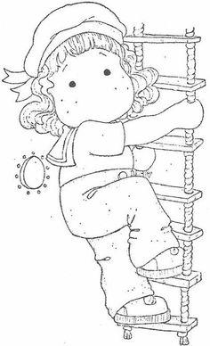 Bon Voyage 2010 - Tilda On Rope Ladder