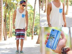 Greater Good Tank Top, Maui & Sons Board Shorts