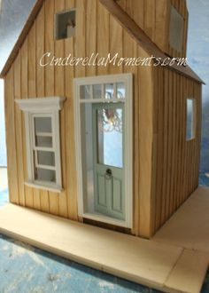 Cinderella Moments: Hunnibabies' Cottage Dollhouse