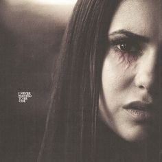"Elena Gilbert (Nina Dobrev) ❤️ Human > Vampire ❤️ ""I never wanted to be one"" - TVD Vampire Diaries The Originals, Serie The Vampire Diaries, Vampire Diaries Quotes, Vampire Diaries Makeup, Vampire Diaries Costume, Elena Gilbert, Paul Wesley, Damon Salvatore, Nina Dobrev"