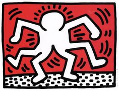Untitled (Doubleman) by Keith Haring | Blouin Boutique | Adamar Fine Arts