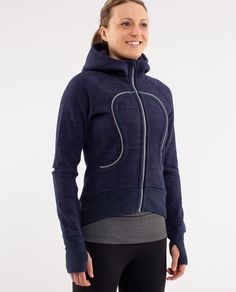 Zip up hoodies and waterproof running jackets for travelling to and from the studio or training for a 10K.