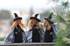 Nadel Felted Puppe Waldorf-Halloween von darialvovsky auf Etsy