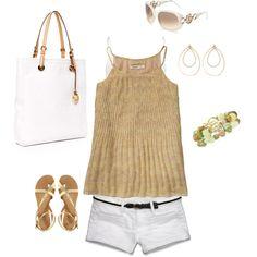 Spring simplicity, created by romigr99 on Polyvore