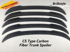 CS type carbon fiber trunk spoiler.F22/F87 M2/F30/F32/F33/F36/F10/F80 M3/F82 M4/F83 M4/G20/G80 M3/G30/F90 M5 available. Carbon Fiber Spoiler, Carbon Fiber