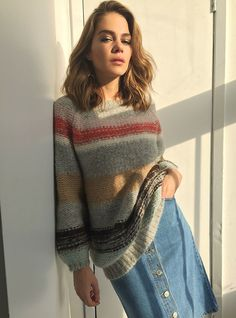 Maripier Morin and LouLou Mag for all the love in 2015 Morin, Look 2015, Denim Fashion, Womens Fashion, Mode Jeans, Style Challenge, Photos Du, Couture, Denim Shirt