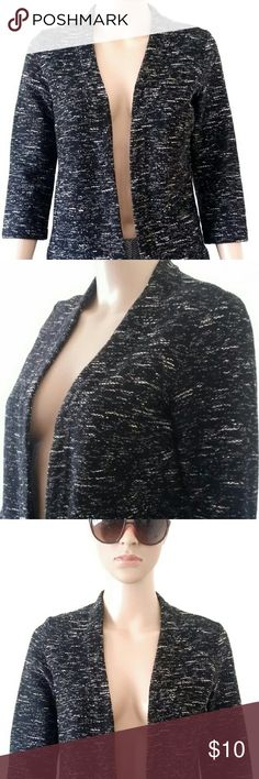 H&M Womens Black Long Sleeve Open Cardigan Size: S SMALL In Very good condition!! Very adorable!! A great gift!! Fast shipping!! H&M Sweaters Cardigans