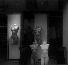 Creepy Figurines in Antwerp