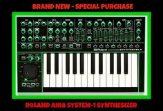 Roland AIRA SYSTEM-1 Plug Out Synth BRAND NEW $500 ITEM Special Purchase $399 #Roland