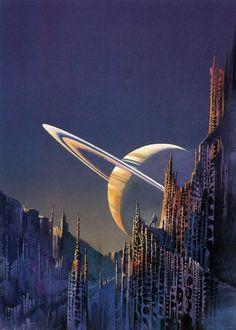 Saturn by Bruce Pennington