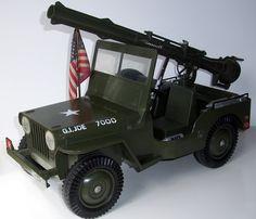 GI Joe 5-Star Jeep