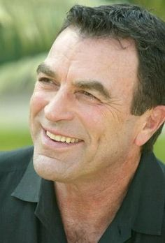 Clean shaven Tom Selleck! Like those dimples! Holy crap...I still