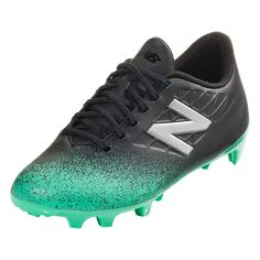 e76068f02e8 New Balance Furon v5 Dispatch Junior FG Wide Firm Ground Soccer Cleat Neon  Emerald Black