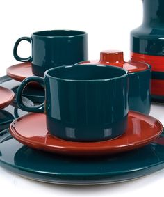 Vintage Service - *MELITTA Kaffeeservice 70er Jahre