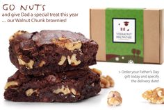 Brownies! Chocolate Gourmet Brownies – Vermont Brownie Company    So delicious!