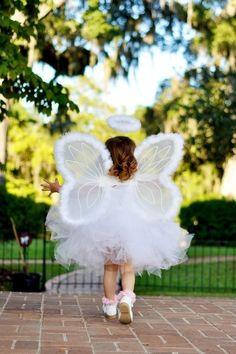Angel tutu costume Infant thru Adult от Zacharydickorydock на Etsy Baby Girl Halloween Costumes, Christmas Costumes, Halloween Kids, Halloween Party, Masquerade Costumes, Tutu Costumes, Costume Dress, Angel Costumes, Angel Outfit
