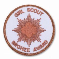 Girl Scout's Highest Awards: The Bronze Award