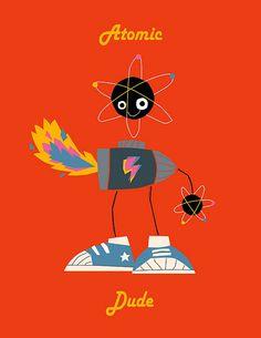Atomic dude