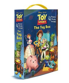 Love this Toy Story Friendship Boxed Board Book Set - Kids by Random House on #zulily! #zulilyfinds
