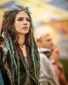 Solid color dreadlock extensions Probably the most popular hair accessories pertaining to early spring is Hippie Dreads, Dreadlocks Girl, Girl With Dreads, Blonde Dreads, Dread Braids, Half Dreads, Double Ended Dreads, Beautiful Dreadlocks, Dreadlock Extensions