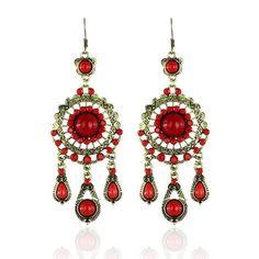 7 USD Crochet Earrings, Drop Earrings, Accessories, Jewelry, Fashion, Jewlery, Moda, Jewels, La Mode