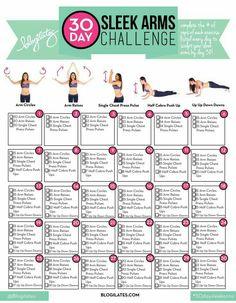 30 day sleek arms
