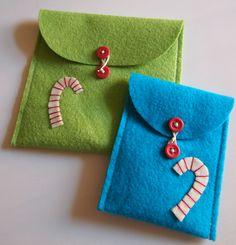 Free Holiday Project: Felt Envelopes « Lark Crafts Lark Crafts