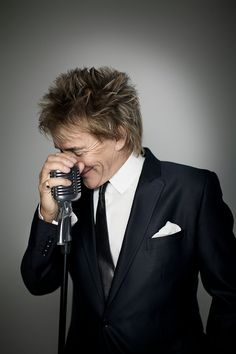 Rod Stewart - met him at a nightclub in Los Angeles when he was married to Alana. I climbed into the booth he was sitting in to say hello....he kissed my hand ;-)