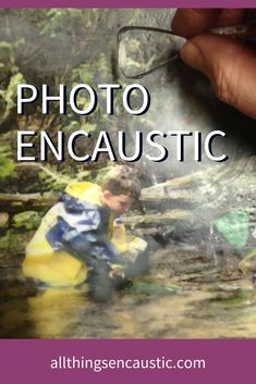 Encaustic Photography Tutorial | Painting Photographs with wax allthingsencaustic.com  #encaustic #photography