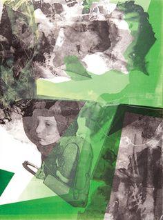 """Saatchi Online Artist Jared Plock; Printmaking, """"Meek (redux)"""" #art Original: $900 / Prints From $54"""