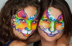 A while back we had some fun with Fusion Body Art colors in the Leanne's Tropical Collection Palette. This will always be my favorite picture...I think! It is amazing seeing your little model grow up in face paint. She will always be by my side.