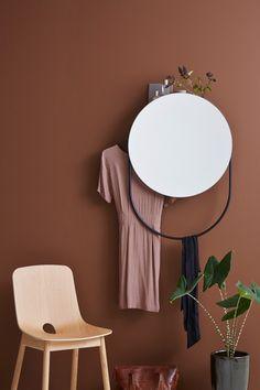 Miroir Verde par Rikke Frost pour WOUD - Journal du Design