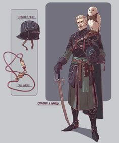 Fantasy character designs, Adam Lee on ArtStation at Character Design Cartoon, Fantasy Character Design, Character Creation, Character Design References, Character Design Inspiration, Character Concept, Character Art, Concept Art, Character Ideas