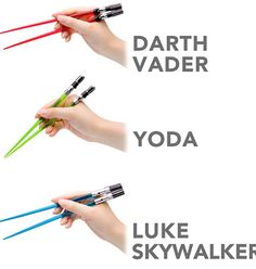 Star Wars Chop Sabers at Think Geek< bought these for a friend on her bday..now I need to buy some for myself