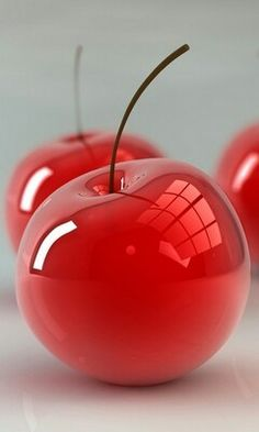 Grey Red ~ apples