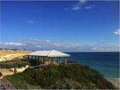 David Donohoe's #Hooroo #SecretSpots is Star of Greece at Port Willunga, #SA. 1950's kiosk perched on a cliff with magnificent views of the sea and the coastline of Port Willunga, close to McLaren Vale wineries. Great seafood, caught by the local fisherman on the beach below. Get a seat on the balcony for a great view of the ocean. Don't miss the Calamari!