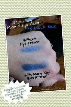 THE BEST EYE PRIMER!!!! Mary Kay Eye Primer #marykay #eyeprimer www.marykay.com/tinabeatty