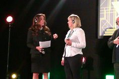 Our VP Heather Livingston, M.Sc. with Director Emiliya Kaloferova - Top Enroller Award from Bulgaria, sharing her experience with ST-5! Thank you Emi! :)