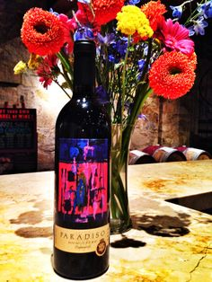 Our new release 2010 Paradiso. A bold and lush wine that will take your breath away!