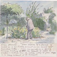 Ardizzone was born at Haiphong, Tonkin, French Indo-China, where his Algerian-born Italian father was on overseas government service. Edward Ardizzone, Travel Sketchbook, Sound Art, Envelope Art, Writing Art, Victoria And Albert Museum, Mail Art, Book Illustration, Childrens Books