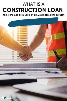Put simply, a construction loan is used to finance building a new structure or to complete extensive renovations on an existing one. However, it's important to note that commercial construction loans function much differently than traditional mortgages. With that in mind, this article will cover what a construction loan is, how they work, and the different types of commercial construction loans that are available. Keep reading to learn more. #mortgage #construction #realestate #investing Real Estate Investor, Real Estate Marketing, Commercial Real Estate Investing, Commercial Construction, Investment Portfolio, Residential Real Estate, Eco Friendly House, Investment Property, Home Buying