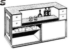 Build the Home Bar of Your Dreams with One of These 7 Free Plans