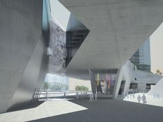 STEVEN HOLL ARCHITECTS - SHENZHEN 4 TOWER IN 1 MASTERPLAN