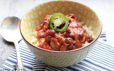 Smoky Two-Bean Veggie Chili [Vegan]