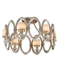 "Corbett Lighting 134-36 Embrace 25 Inch Semi Flush Mount | Capitol Lighting 1-800lighting.com | 24.5""dia x 14.5""h 