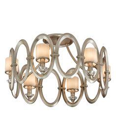 "Corbett Lighting 134-36 Embrace 25 Inch Semi Flush Mount | Capitol Lighting 1-800lighting.com | 24.5""dia x 14.5""h | 1,431.00 retail | 954.00 Capitol"