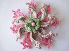 Цветок Вязание крючком Flower Crochet