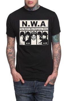 a1b458f6794d N.W.A. Dangerous T-Shirt Hot Topic