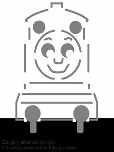 thomas the train pumpkin printable | Thomas the Tank Engine